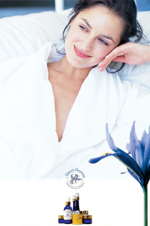 Nature's Creations luxurious natural skin care range