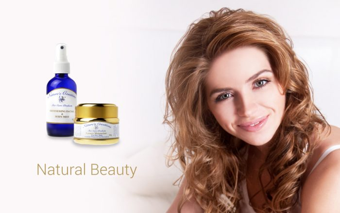 Nature's Creations skin care products for Natural Beauty